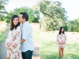 Floral Maternity Dress Photos