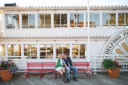 Padelford Riverboat Engagement Photos
